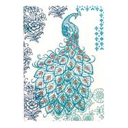 Peacock Handmade Embroidered Journal by Galison Publishing, 9780735343221