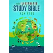 HCSB Illustrated Study Bible for Kids, Printed Hardcover by Holman Bible Staff, 9781433603228