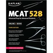 MCAT 528 Advanced Prep for Advanced Students by Unknown, 9781506203232