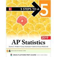 5 Steps to a 5: AP Statistics 2019 by Hinders, Duane, 9781260123241
