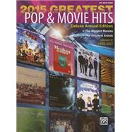 Greatest Pop & Movie Hits 2015 by Matz, Carol (CON), 9781470623241