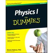 Physics I For Dummies by Holzner, Steven, 9780470903247