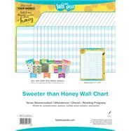 Sweeter Than Honey Wall Chart by Tyndale House Publishers, Inc., 9781496403247