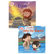 Elijah/John the Baptist Flip-Over Book by Kovacs, Victoria; Ryley, David, 9781433643248