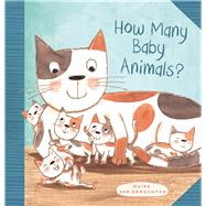 How Many Baby Animals? by van Genechten, Guido, 9781605373249