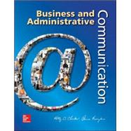 Business and Administrative Communication by Locker, Kitty; Kienzler, Donna, 9780073403250