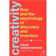 Creativity: The Psychology of Discovery and Invention by Csikszentmihalyi, Mihaly, 9780062283252