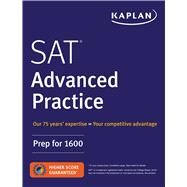 Sat Advanced Practice by Kaplan Test Prep, 9781506223254