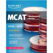 Kaplan MCAT Biochemistry Review by Kaplan, 9781506203256