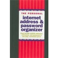 The Personal Internet Address & Password Organizer by Peter Pauper Press, Inc, 9781441303257
