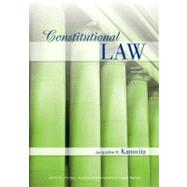 Constitutional Law by Kanovitz, Jacqueline R., 9781422463260