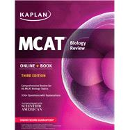 MCAT Biology Review Online + Book by Unknown, 9781506203263