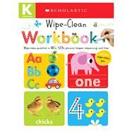 Wipe Clean Workbooks: Kindergarten (Scholastic Early Learners) by Unknown, 9780545903264