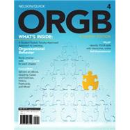 ORGB 4 (with Management CourseMate Printed Access Card) by Nelson; Quick, 9781285423265