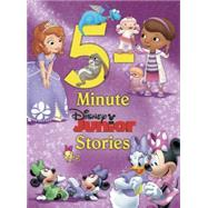 Disney Junior 5-Minute Disney Junior Stories by Disney Book Group; Disney Storybook Art Team, 9781484713273