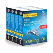 MCITP Windows Server 2008 Enterprise Administrator Training Kit 4-Pack (2nd Edition) Exams 70-640, 70-642, 70-643, 70-647 by Holme, Dan; Ruest, Nelson, 9780735663275
