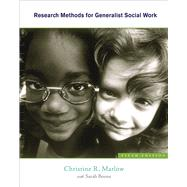 Research Methods For Generalist Social Work by Marlow, Christine R., 9780840033277