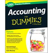 1,001 Accounting Practice Problems for Dummies by Boyd, Kenneth, 9781118853283