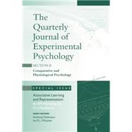 Associative Learning and Representation: An EPS Workshop for N.J. Mackintosh: A Special Issue of the Quarterly Journal of Experimental Psychology, Section B by Dickinson,Anthony, 9781138883284
