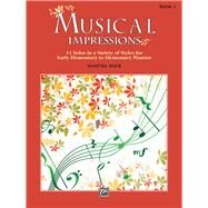 Musical Impressions by Mier, Martha (COP), 9781470633288