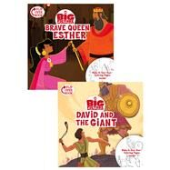Brave Queen Esther/David and the Giant Flip-Over Book by Unknown, 9781433643293