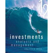 Investments : Analysis and Management by Jones, Charles P., Ph.D., 9781118363294