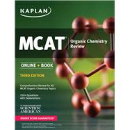 MCAT Organic Chemistry Review Online + Book by Unknown, 9781506203294