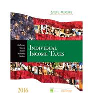 South-Western Federal Taxation 2016: Individual Income Taxes (with H&R Block? CD-ROM & RIA Checkpoint® 6-month Printed Access Card) by Hoffman, William H., Jr., Ph.D.; Young, James C., Ph.D.; Raabe, William A., Ph.D.; Maloney, David M., Ph.D., 9781305393301