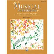 Musical Impressions by Mier, Martha (COP), 9781470633301