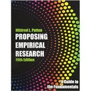 Proposing Empirical Research by Patten, Mildred L., 9781936523306