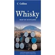 Collins Whisky Map of Scotland by HarperCollins, 9780007513307