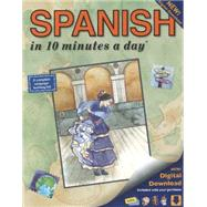 SPANISH in 10 minutes a day� by Kershul, Kristine K., 9781931873307