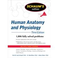 Schaum's Outline of Human Anatomy and Physiology, Third Edition by Van de Graaff, Kent; Rhees, R.; Palmer, Sidney, 9780071623308