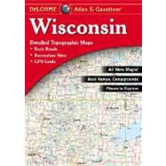 Wisconsin Atlas and Gazetteer by Delorme, 9780899333311