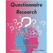 Questionnaire Research: A Practical Guide by Unknown, 9781936523313