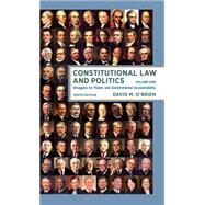 Constitutional Law and Politics by O'Brien, David M., 9780393603316