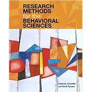 Research Methods for the Behavioral Sciences by Gravetter, Frederick J; Forzano, Lori-Ann B., 9781337613316