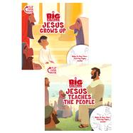 Jesus Grows Up/Jesus Teaches the People Flip-Over Book by Unknown, 9781433643316