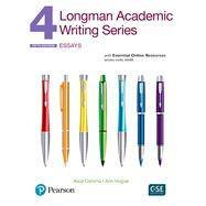 Longman Academic Writing Series 4 Essays, with Essential Online Resources by Oshima, Alice; Hogue, Ann, 9780134663319