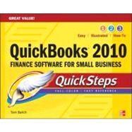 QuickBooks 2010 QuickSteps by Barich, Thomas E., 9780071633321