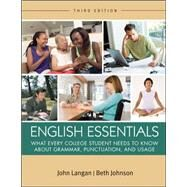 English Essentials by Langan, John, 9780073533322