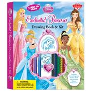 Learn to Draw Disney's Enchanted Princesses Drawing Book & Kit: Includes Everything You Need to Draw Ariel, Cinderella, Rapunzel, and Your Other Favorite Disney Princesses! by Disney Storybook Artists, 9781600583322