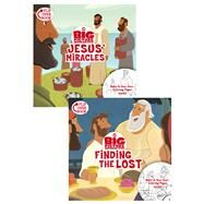 Jesus' Miracles/Finding the Lost, Flip-Over Book by Unknown, 9781433643323