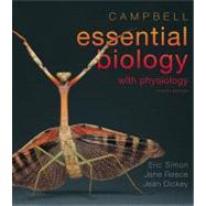 Campbell Essential Biology with Physiology Plus MasteringBiology with eText -- Access Card Package by Simon, Eric J.; Dickey, Jean L.; Reece, Jane B., 9780321763327