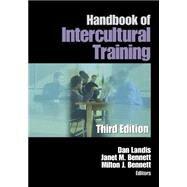 Handbook of Intercultural Training by Dan Landis, 9780761923329