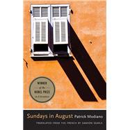 Sundays in August by Modiano, Patrick; Searls, Damion, 9780300223330