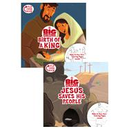 The Birth of a King/Jesus Saves His People Flip-Over Book by Unknown, 9781433643330