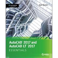 Autocad 2017 and Autocad Lt 2017 Essentials by Onstott, Scott, 9781119243335
