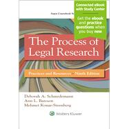 The Process of Legal Research Practices and Resources by Schmedemann, Deborah A.; Bateson, Ann L.; Konar-Steenberg, Mehmet, 9781454863335