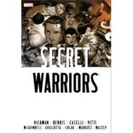 Secret Warriors Omnibus by Bendis, Brian Michael; Hickman, Jonathan; Maleev, Alex; Caselli, Stefano; Vitti, Alessandro, 9780785163336